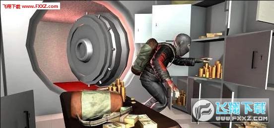 小偷银行抢劫案抢劫模拟器官方安卓版1.1截图0
