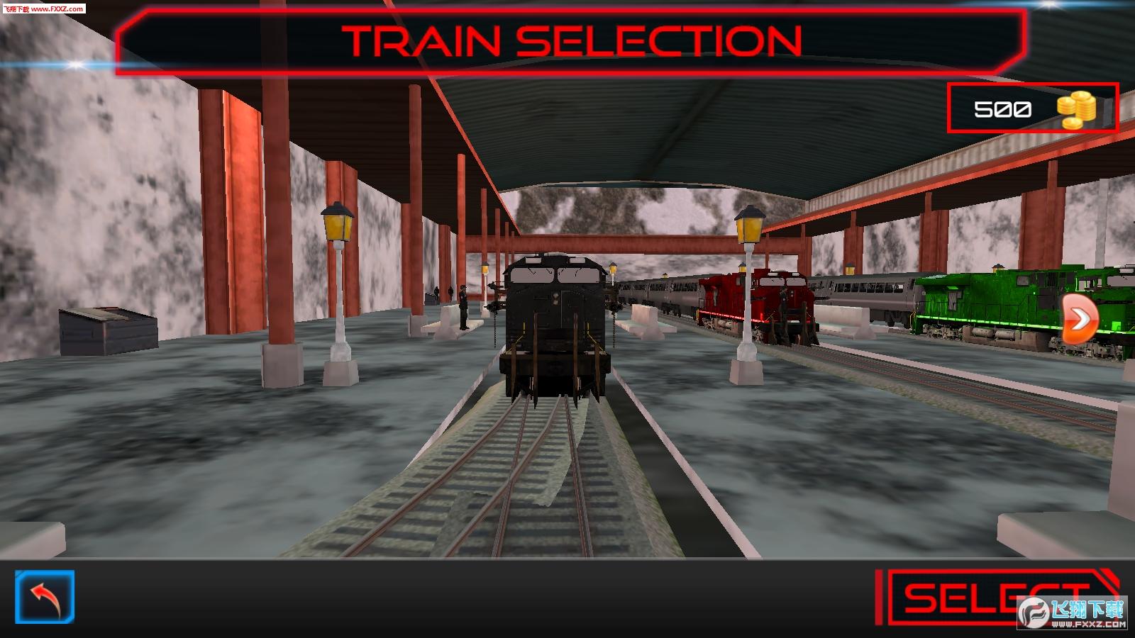军队列车模拟手游1.0截图1