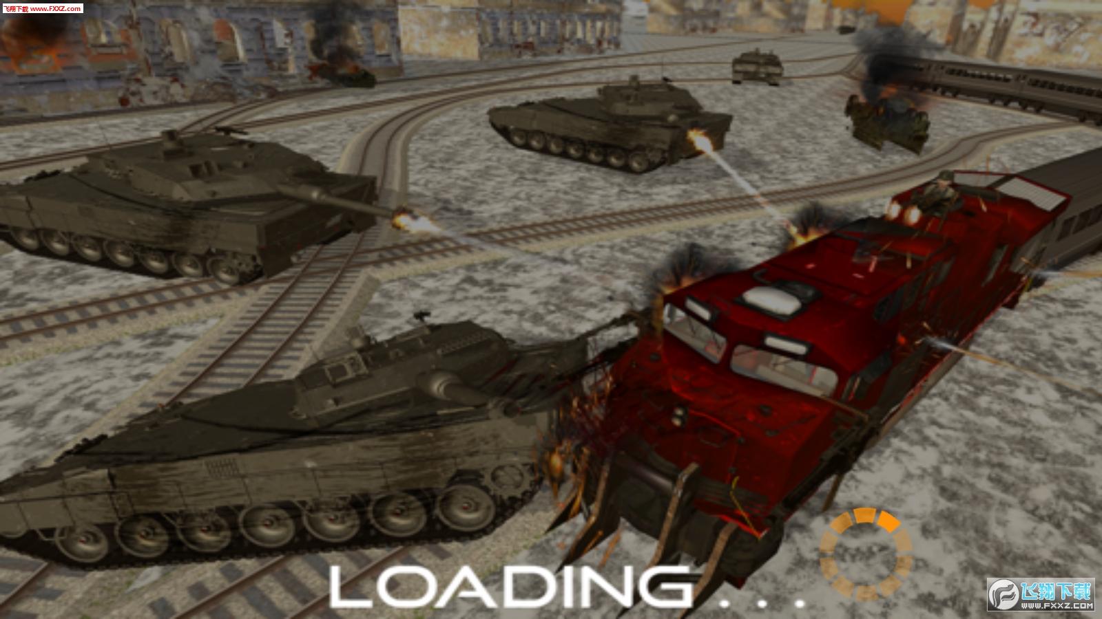 军队列车模拟手游1.0截图2