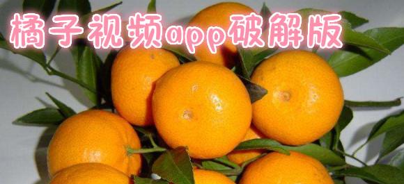 橘子视频破解版_橘子视频app免费版