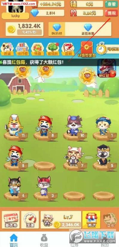 赚钱的猫红包版app手机版