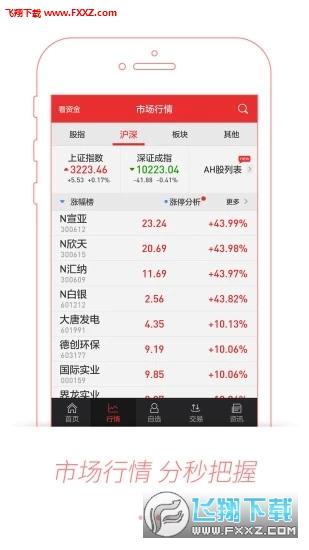 申港证券同花顺版appv9.01.13截图2
