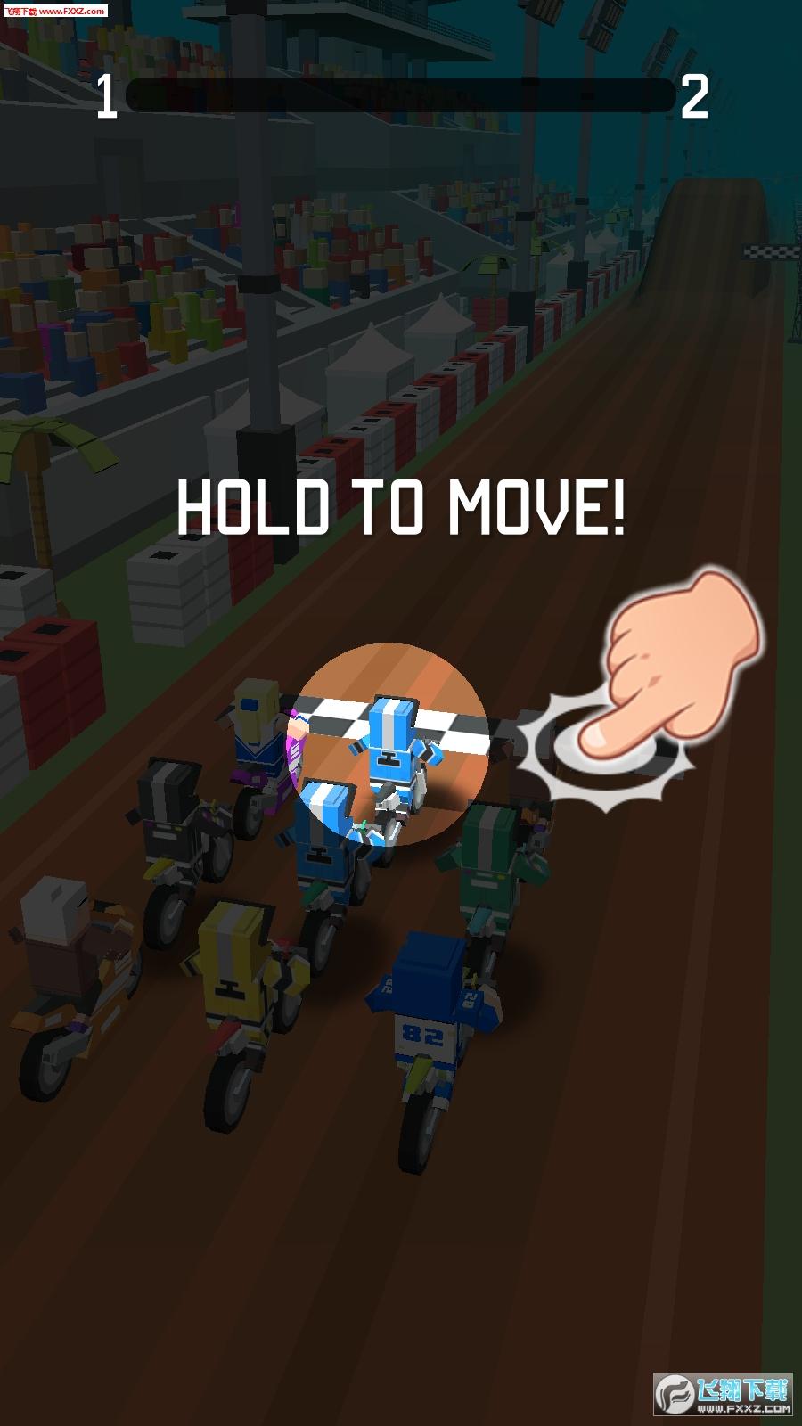 像素摩托车大赛免费手游1.1.4截图0