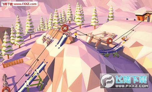 惊险雪山缆车截图1