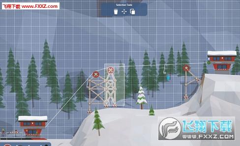 惊险雪山缆车截图2