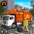 城市清洁垃圾车模拟安卓版v1.0