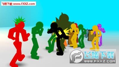 火柴人街道3D战斗机手游v1.02截图2