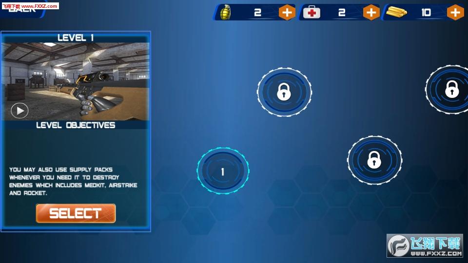 机器人战争战场手游安卓版1.0截图1