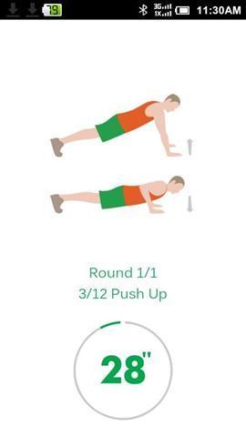 7分钟锻炼appv3.0.1截图1