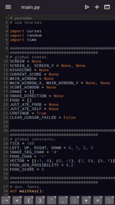 PythonJam手机版1.2.0截图1