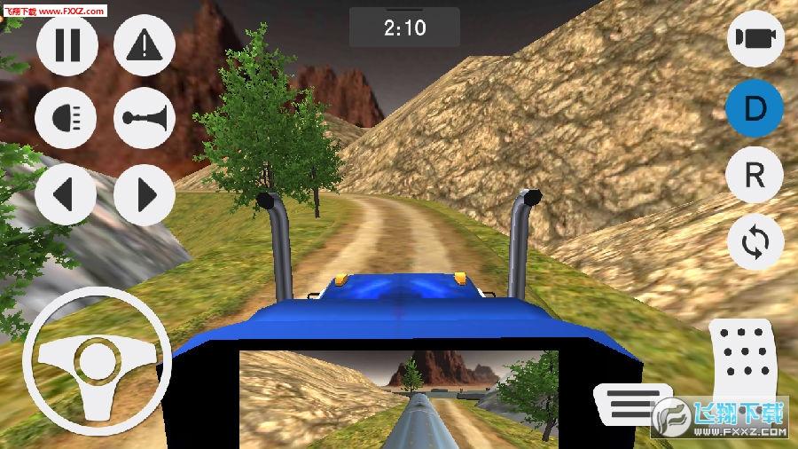 模拟山地货车运输手游
