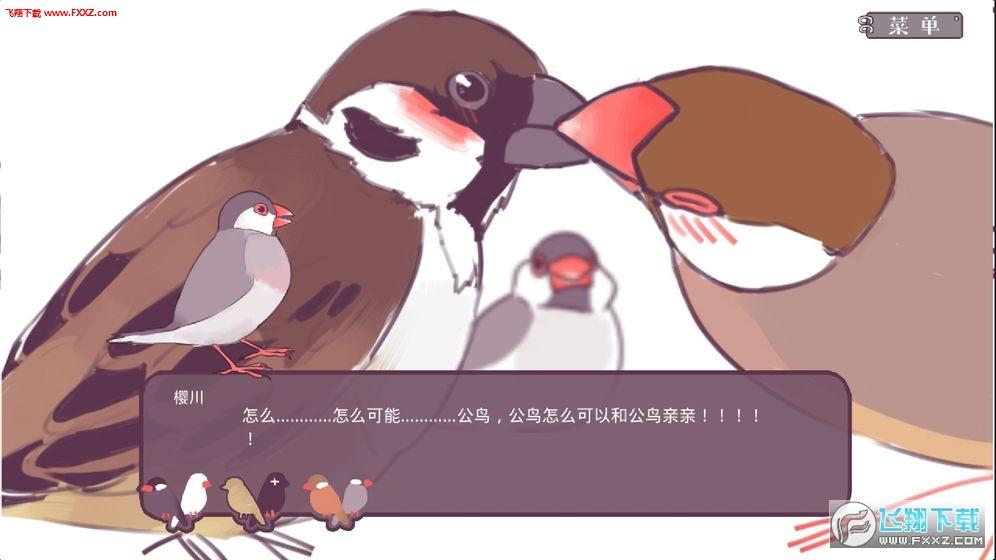 文鸟恋爱物语安卓版v3.00.00截图0