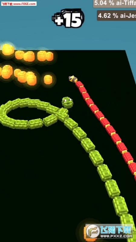 像素蛇大作战安卓版1.40截图1