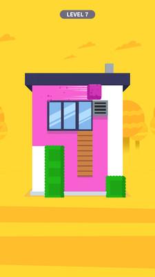 粉刷房子游戏1.0.1截图1