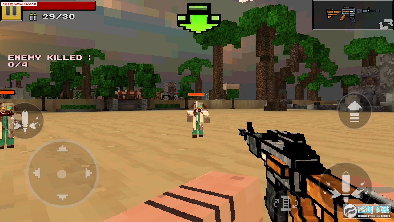 3D像素枪战安卓版1.03截图3
