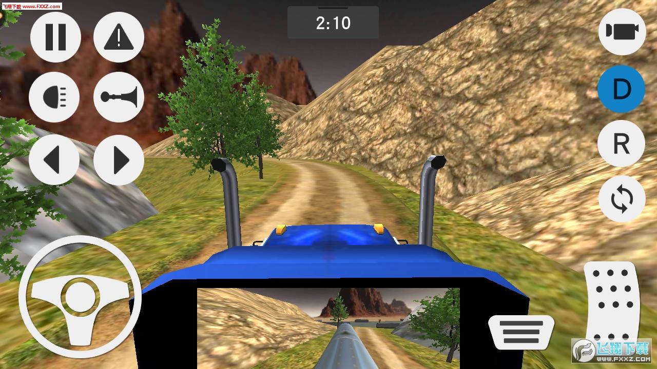 模拟山地货车运输手游1.0.0截图2