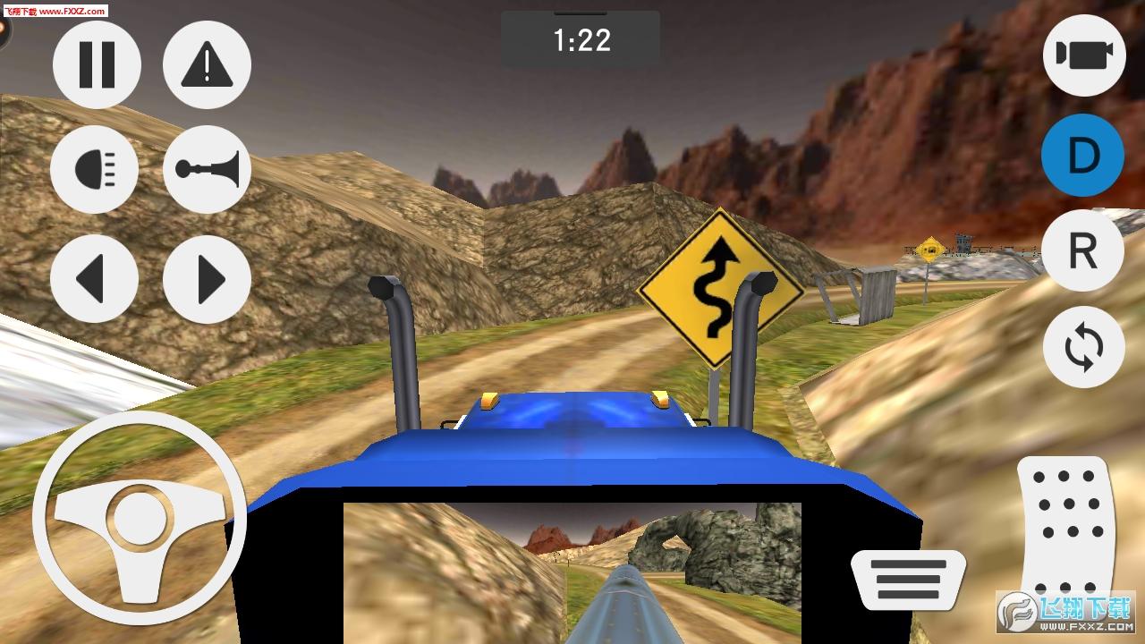 模拟山地货车运输手游1.0.0截图3