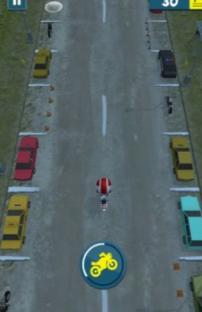 摩托车漂移停放游戏v1.0截图1