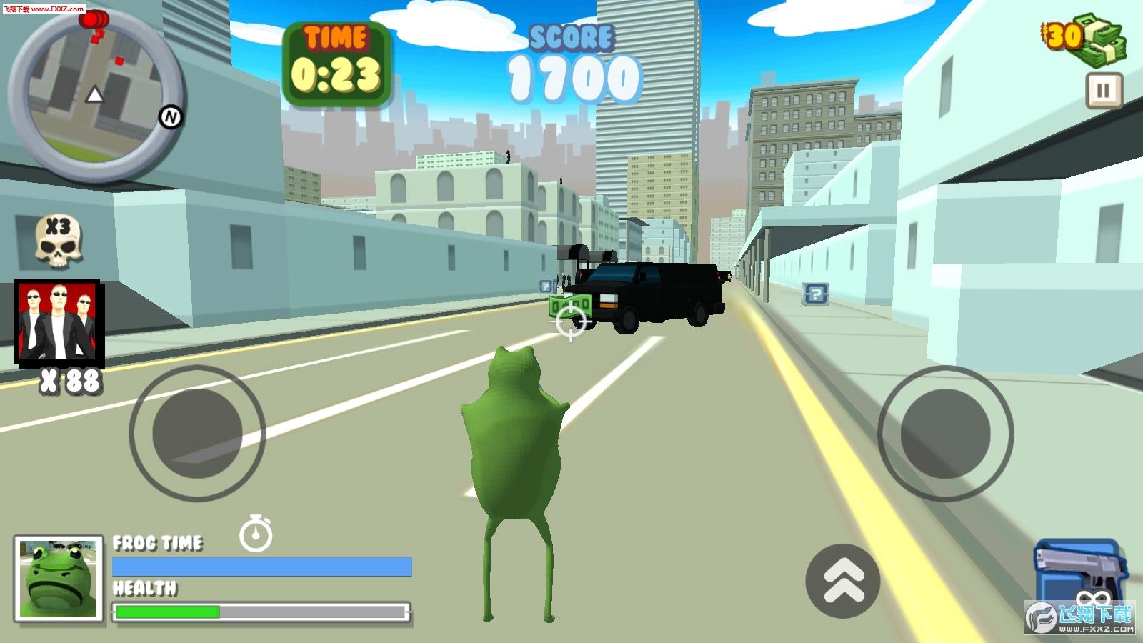 抖音疯狂的青蛙安卓版1.0截图2