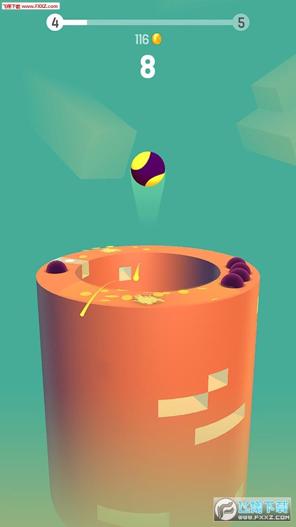 跳动球球手游安卓版1.0截图1