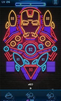 霓虹弹珠官方版v0.3截图0
