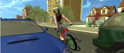 疯狂的自行车骑手安卓版1.0截图2