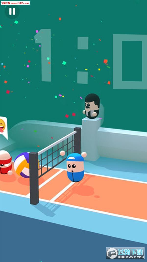 彩色排球3D手游最新版0.2截图0