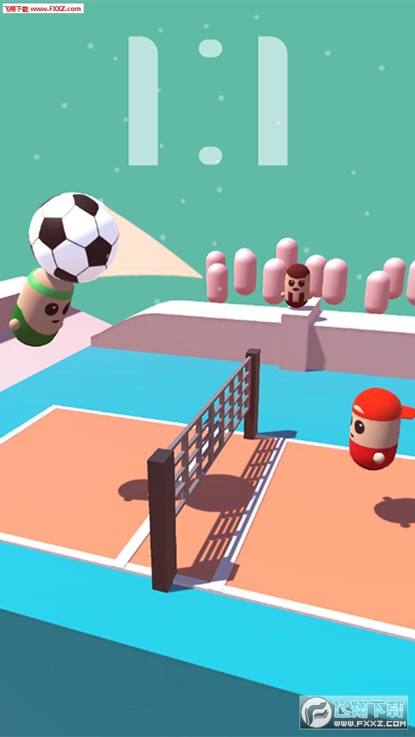 彩色排球3D手游最新版0.2截图2