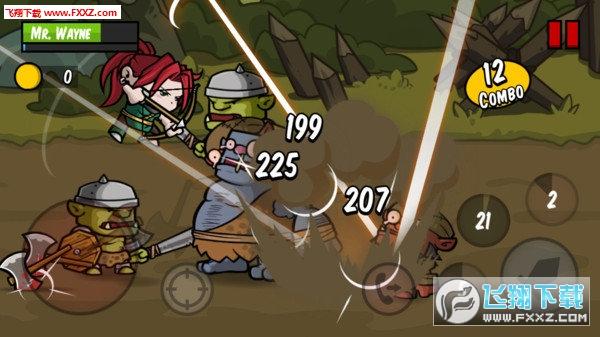 刀锋英雄战斗饥渴0.9.3截图1