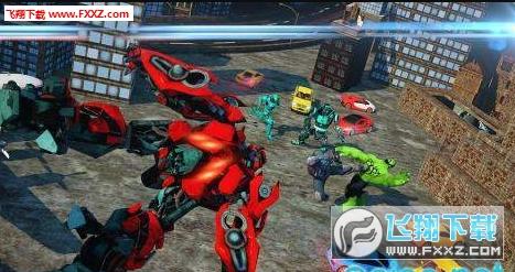机器人城市战斗1.0.0截图0