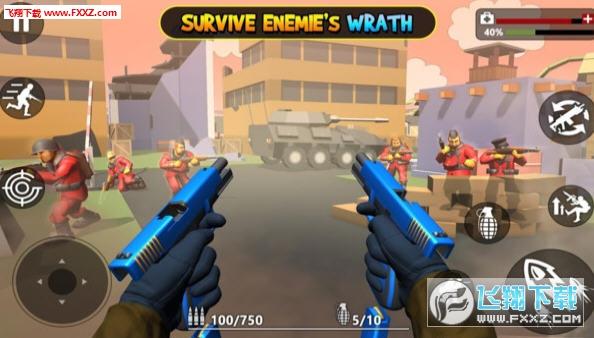 玩具士兵射击官方版