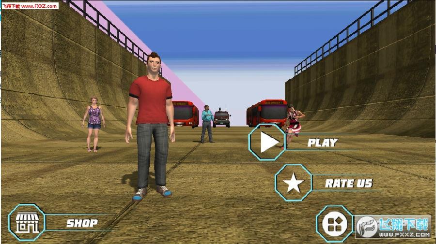 障碍跑酷模拟器游戏
