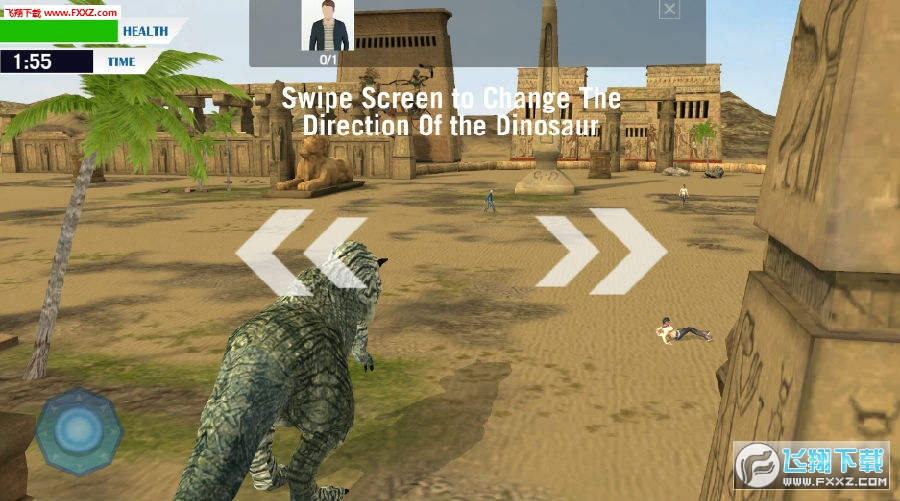 哥斯拉大战恐龙游戏
