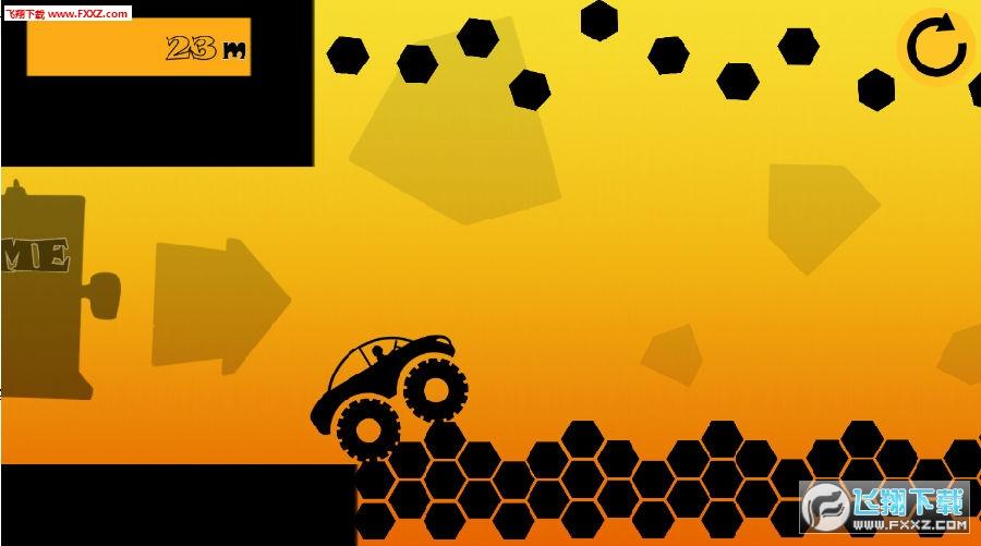 黑色经典赛车游戏