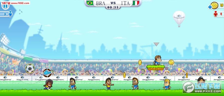 超级派对运动足球游戏