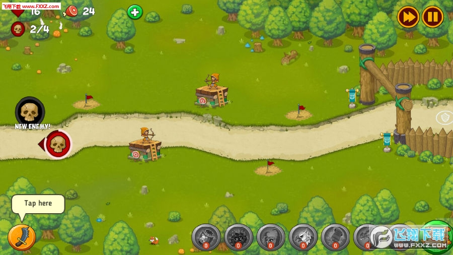 塔楼防御魔法探索游戏