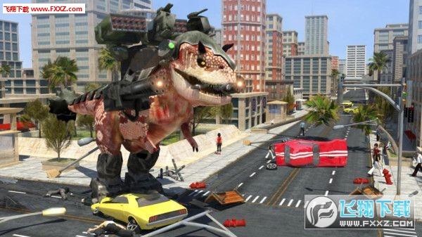 哥斯拉大战恐龙游戏v1.1截图1