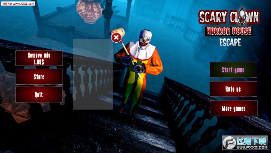 疯狂小丑密室逃脱游戏v1.1.2截图0