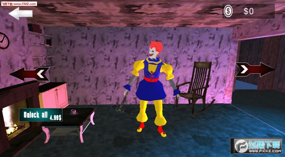 疯狂小丑密室逃脱游戏v1.1.2截图1