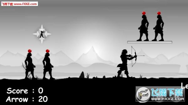 黑衣人苹果箭手游戏v1.2.7截图0