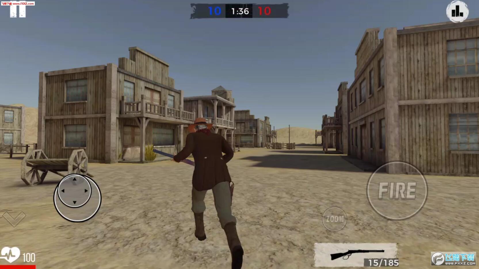 OneShotOutlaw游戏v1.0截图1