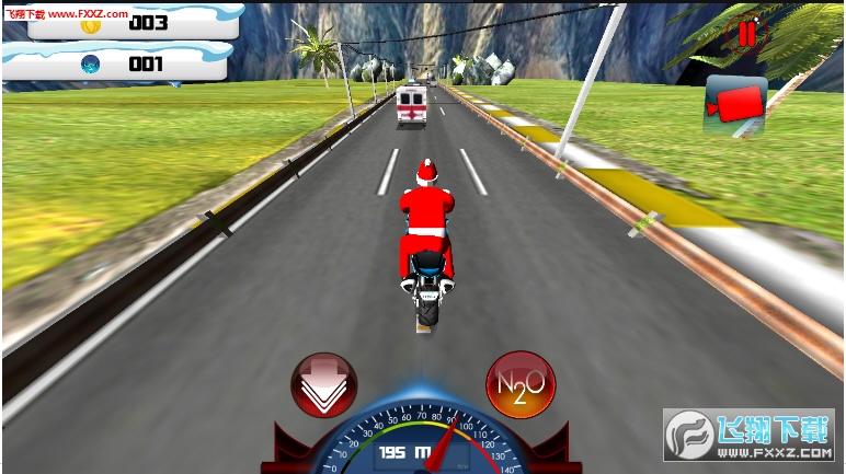 真正的摩托车赛车手游戏v1.0截图1