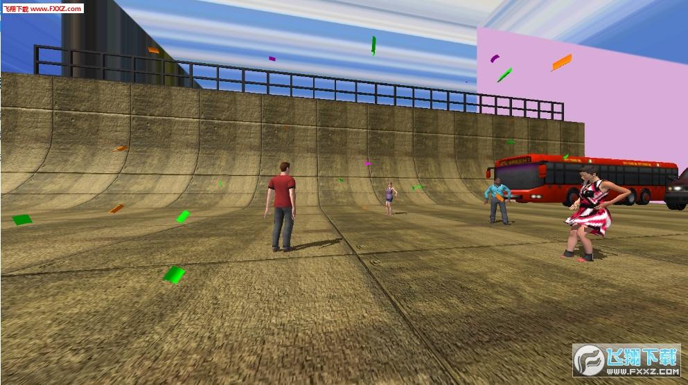 障碍跑酷模拟器游戏v1.0截图0