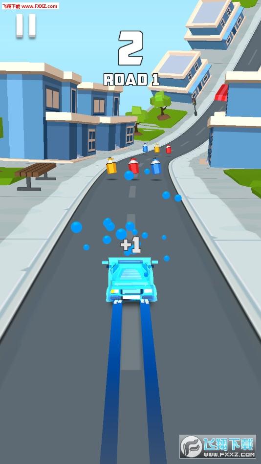极速汽车3D游戏