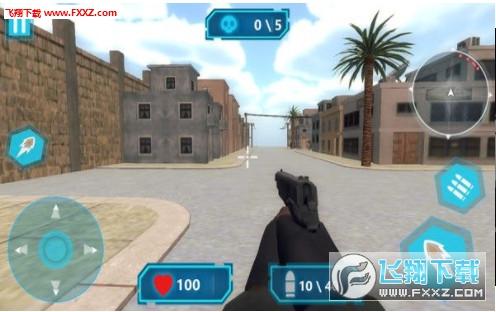 枪战射击突围赛游戏1.0截图1