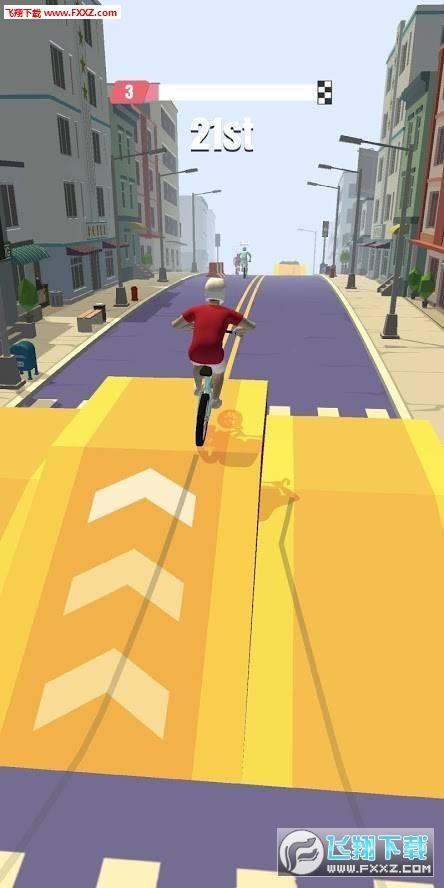 自行车冲刺赛游戏v1.0.2截图0