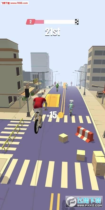 自行车冲刺赛游戏v1.0.2截图2