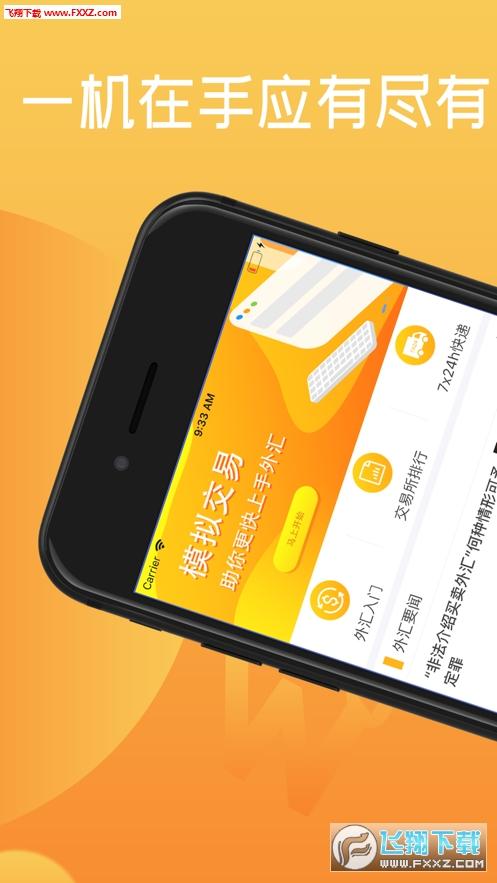 外币行情app1.1截图1