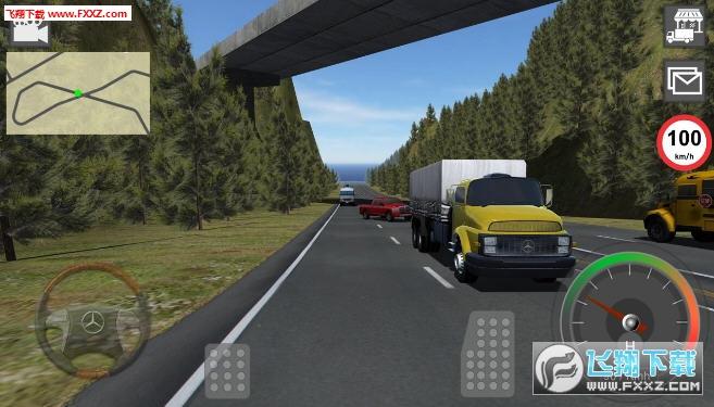 GBD奔驰卡车模拟器安卓版6.18截图0