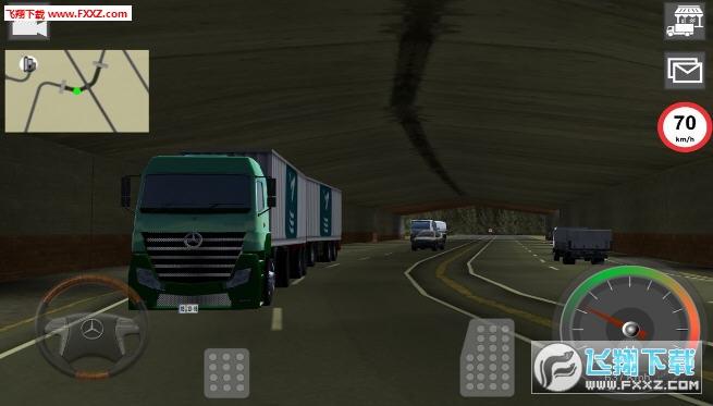 GBD奔驰卡车模拟器安卓版6.18截图2